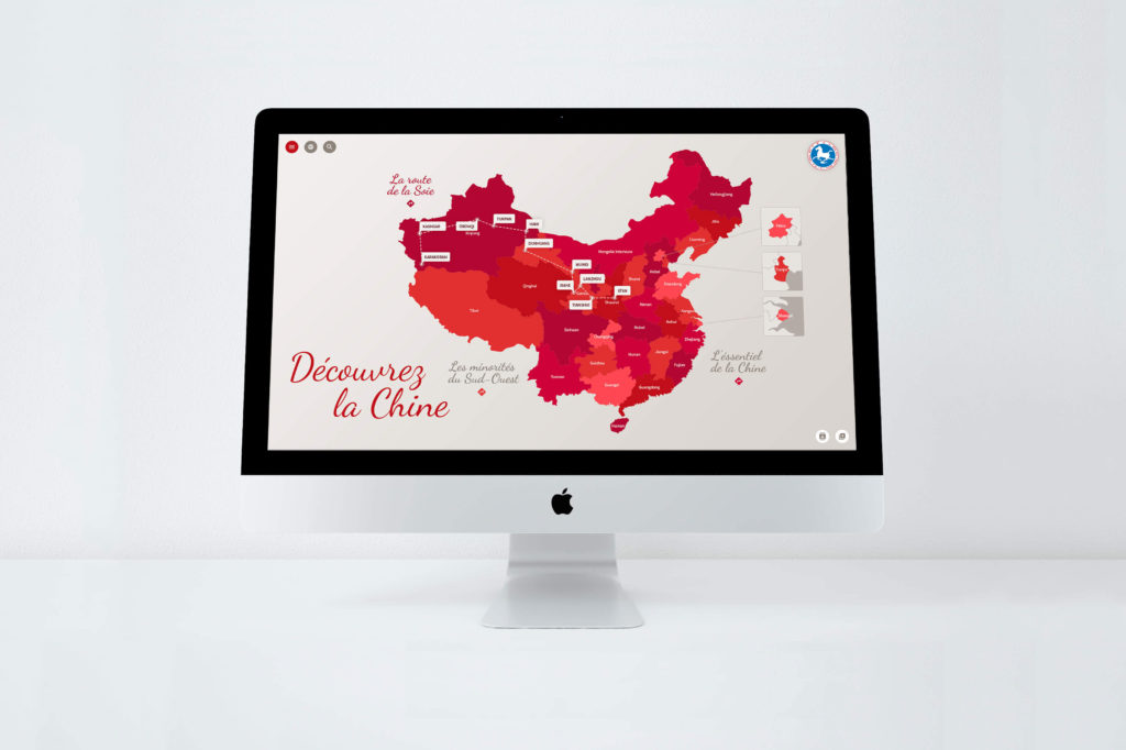 Site web Office Tourisme Chine