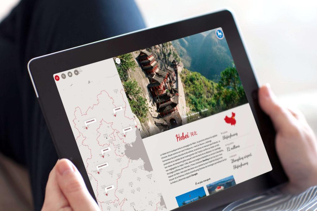 Site web Office Tourisme Chine